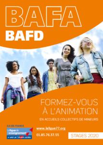 Affiche BAFA 2020