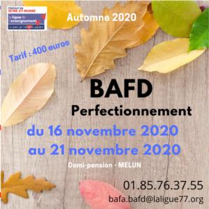 BAFD perf - nov 2020